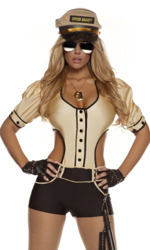 Forplay Women's Cop Adult Sized Costumes
