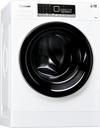 Bauknecht WM Style 1024 ZEN Waschmaschine FL / A+++ / 95 kWh/Jahr / 1400 UpM / 10 kg / Extrem leise mit 48 db /Mehrsprachiges Touch-Display / weiß