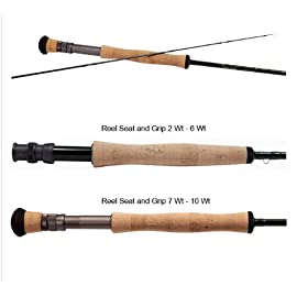 Temple Fork Outfitters Professional Series II Fly Rods Model: TF 07 10 4 P2 (10' 0