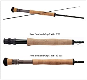 Temple Fork Outfitters Professional Series II Fly Rods Model: TF 08 90 4 P2 (9' 0