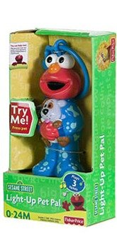 Sesame Street Elmo Light Up Musical Pet Pal by Fisher-Price - 1