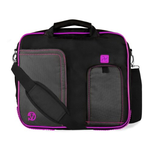 Click to buy VanGoddy Pindar Messenger Bag for Fujitsu 13.3 inch Laptops, Plum Purple - From only $45.99