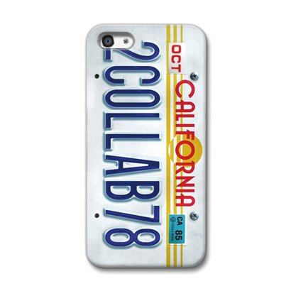 CollaBorn iPhone5専用スマートフォンケース Numberplate[CALIFORNIA] 【iPhone5対応】 OS-I5-214