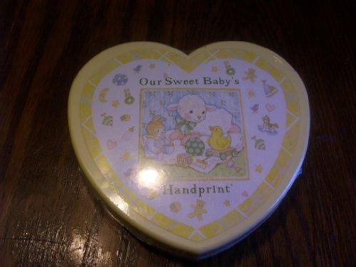 Our Sweet Baby's Handprint Keepsake Kit