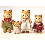 Sylvanian Families Panda Family (Red)