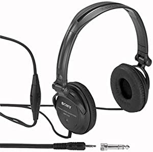 Sony MDR-V250V Monitor Series Headphones with In-line Volume Control (Discontinued by Manufacturer)