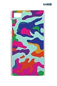 Lorem Back Cover For Xiaomi Mi3 -Multicolor-L15005
