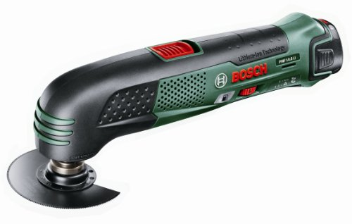 Bosch PMF 10.8 Li-Ion Cordless Multifunctional All-Rounder Oscillating Multi-Tool