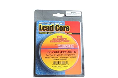 Woodstock Ez-core 300-feet30-pounds Bkng 300-feet27-pounds Leadcore 50-feet20-pounds Mono from Woodstock Fishing Line