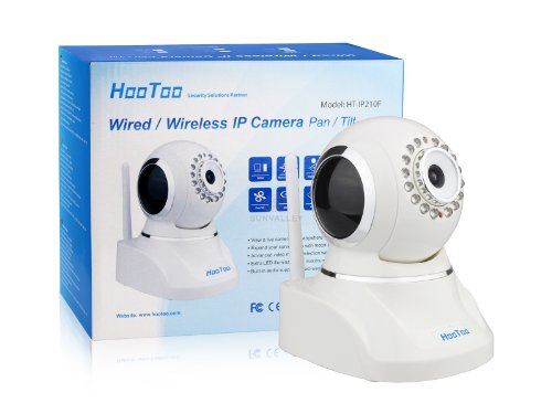 (Hot Sale) HooToo® HT-IP210F IP Wired/Wireless