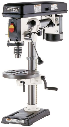 SHOP FOX W1669 1/2-Horsepower Benchtop Radial Drill Press (Drill Press Radial compare prices)