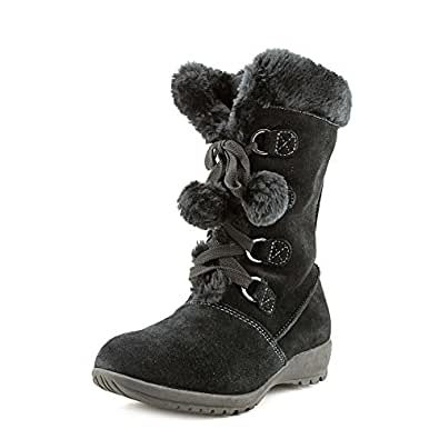 Sporto Joey Womens Suede Winter Boots Black Size 8.5