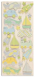 Martha Stewart Crafts Boy Plane Chipboard Stickers By The Package