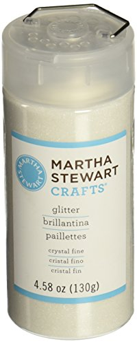 Martha Stewart Crafts Fine Glitter, Crystal, 4.58 Ounces (Crystals Crafts compare prices)