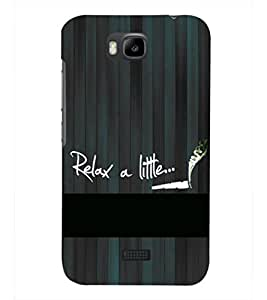 PRINTSHOPPII QUOTES Back Case Cover for Huawei Honor Bee::Huawei Y5C