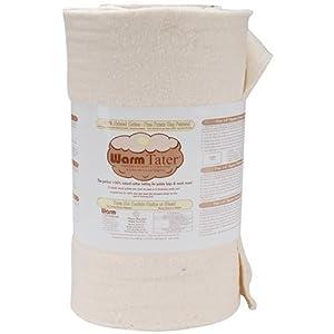 Warm Company Warm Tater 100% Cotton Batting 22x20 Yds: Natural