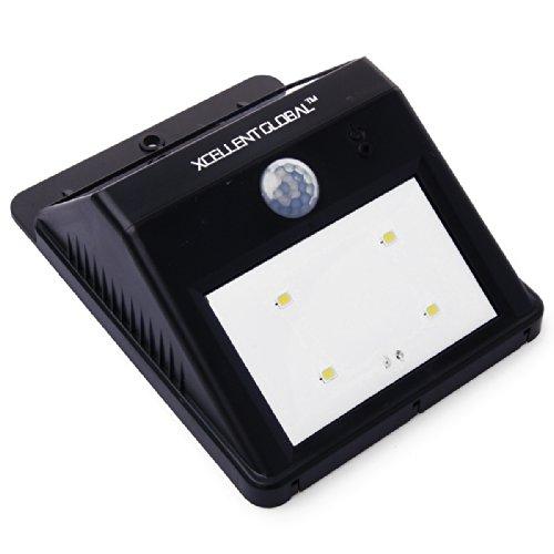 Wireless Led Solar Powerd Security Motion Sensor Light, Wall/Garden Lamp