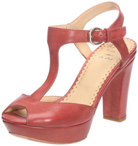 Sax24403 - Scarpe con Tacco Donna , rosso (Rouge (Talco campari)), 41 EU