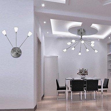 10W lampe moderne mur 3-lumiššre dans la Chronique de cristal