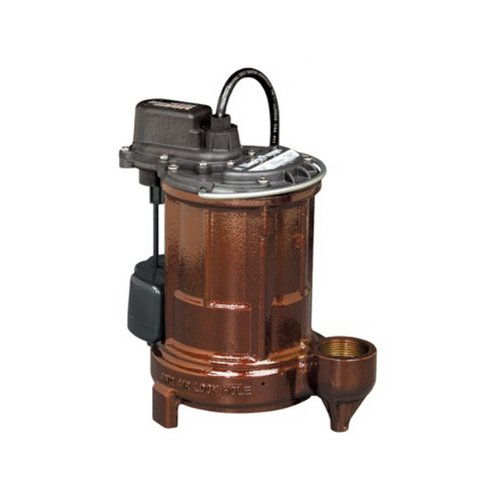 cast iron automatic submersible sump effluent pump with vmf switch