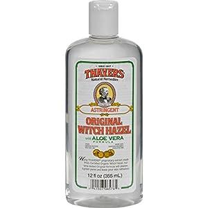 Thayers Witch Hazel with Aloe Vera Astringent, Lemon 11.5 oz (a)