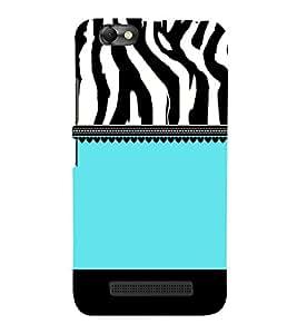 Tiger Pattern Design Cute Fashion 3D Hard Polycarbonate Designer Back Case Cover for Lenovo Vibe C :: Lenovo A2020