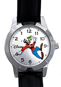 Goofy Backwards Watch By Disney Highly Collectible
