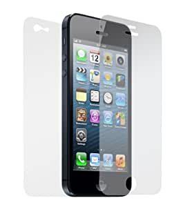 Dynamic - USA Company - Front & Back Anti-glare Screen Protector Guard File for Apple iPhone 5