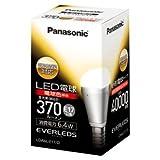 パナソニック LED電球(全光束:370 lm/電球色相当)【調光器対応モデル】Panasonic EVERLEDS(エバーレッズ) LDA6LE17D