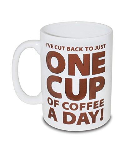 BigMouth Inc. One Cup of Coffee Gigantic Mug