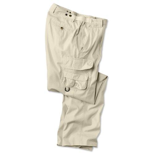 14-pocket Expedition Poplin Trousers / 14-pocket Elephant Bush Poplin Trousers, Stone, 36