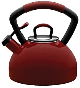 KitchenAid 2.25-Quart Soft Grip Kettle, (Red)