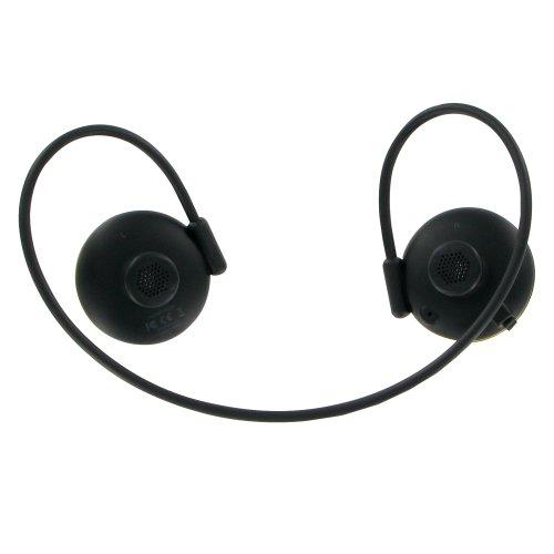 Bluetooth 超軽量23g ワイヤレス ステレオヘッドホン Avantalk JoggerAS6(ブラック)