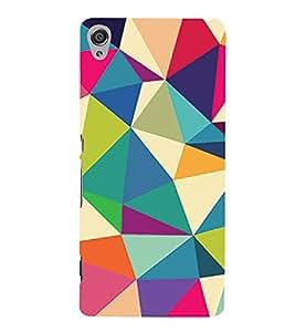 3D Color Design 3D Hard Polycarbonate Designer Back Case Cover for Sony Xperia XA :: Sony Xperia XA Dual