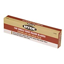 Hyde Tools 13135 100-Box Single Edge Blades