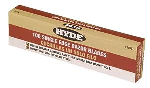 Hyde Tools 13135 100-Box Single Edge Blades