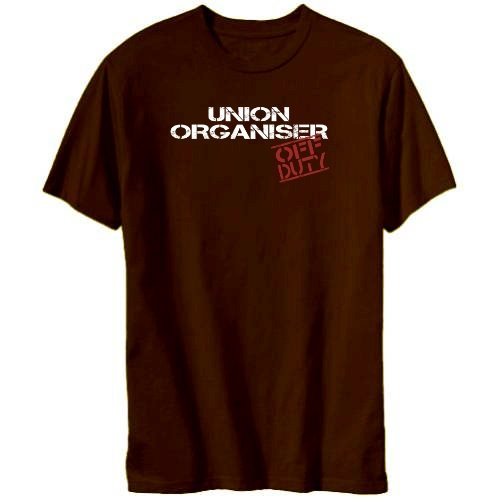 Union Organiser - Off Duty Mens T-shirt