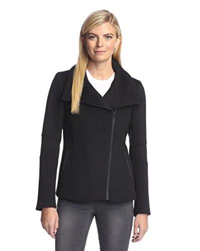 Soia & Kyo Women's Asymmetric Zip Jacket