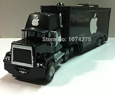 "Pixar Cars Diecast Mack Uncle Truck ""Black Apple"" Metal Toys Cars Gift Toys by super cars [並行輸入品]"