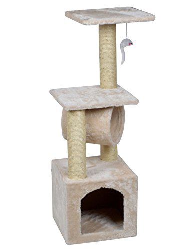 Cool cat tree plans cat condos for Cat climber plans