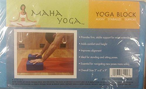 Maha Fitness Eva Yoga Block, 3 x 6 x 9-Inch