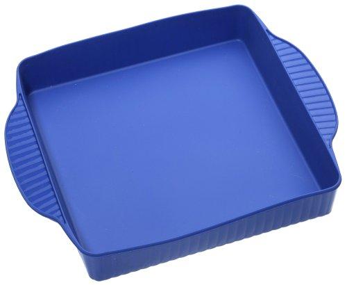 Roshco Silicon Square Cake Pan, Blue - Buy Roshco Silicon Square Cake Pan, Blue - Purchase Roshco Silicon Square Cake Pan, Blue (Roshco, Home & Garden, Categories, Kitchen & Dining, Cookware & Baking, Baking, Cake Pans, Square & Rectangular)