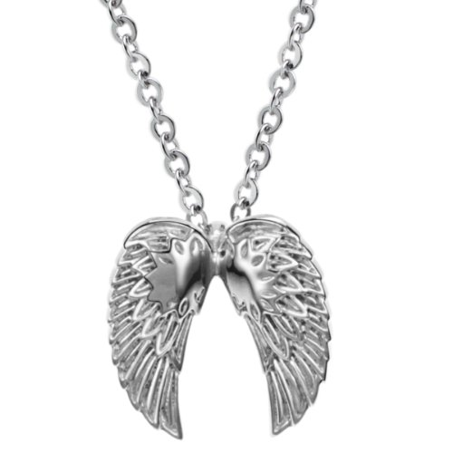 Opk Jewellery Necklace Fashion Titanium Steel Domineering Wings Special Cool Pendant Neckwear Chains,Men's Necklets