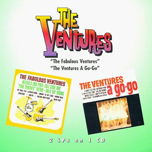 The Ventures - The Fabulous Ventures/Ventures A Go-Go [2-on-1 CD] - Zortam Music