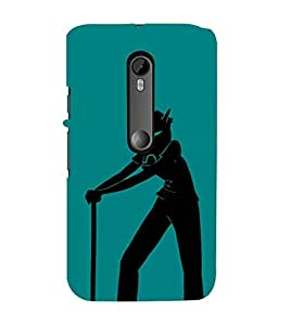 EPICCASE Devil boy Mobile Back Case Cover For Moto X Style (Designer Case)