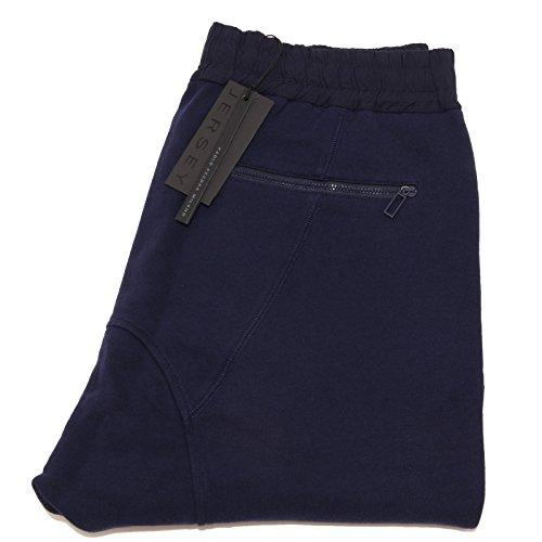 4144I pantaloni tuta blu PAOLO PECORA trousers pants men [L]