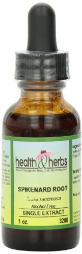Alternative Health & Herbs Remedies Spikenard Root, 1-Ounce Bottle (Pack Of 2)