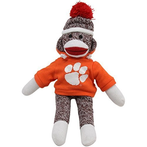 Clemson Tigers 11'' Team Sock Monkey at 'Sock Monkeys'