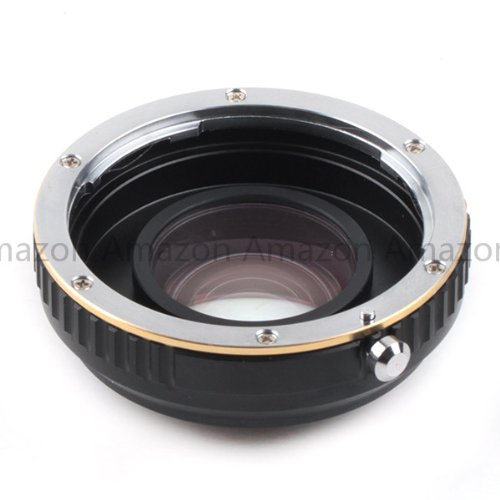 Generic Focal Reducer Speed Booster adapter For Canon EF mount Lens to Micro 4/3 M4/3Camera
