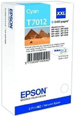 C13T70124010 ePS wP4000 3400p ink cartouche d'encre cyan/cyan format xXL
